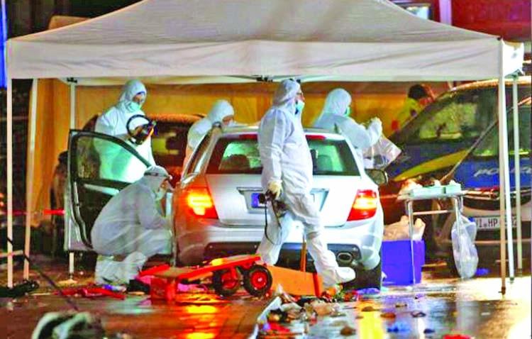 Dozens hurt as car plows into German carnival parade