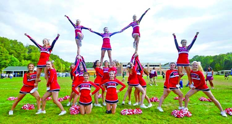 Want to be a cheerleader?