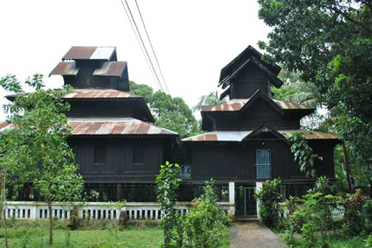Aggmeda Khyang Monastery in Cox's Bazar