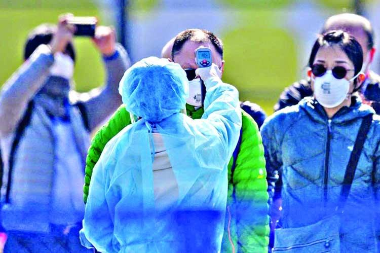 Japan testing for coronavirus at fraction of capacity