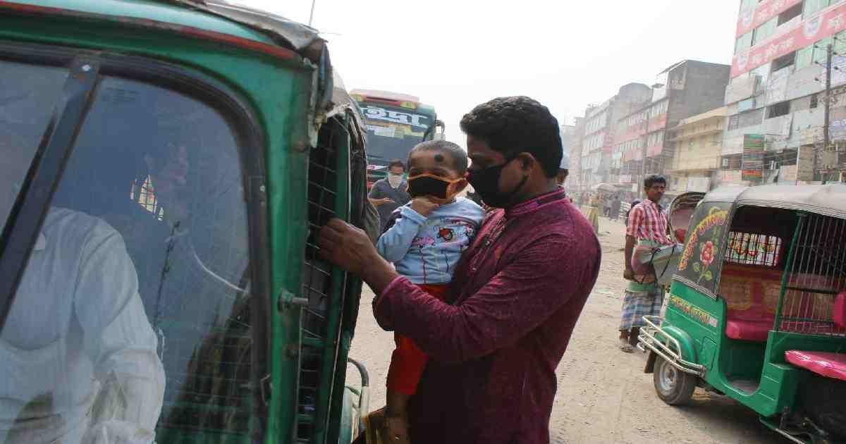 Dhaka's air quality still 'unhealthy