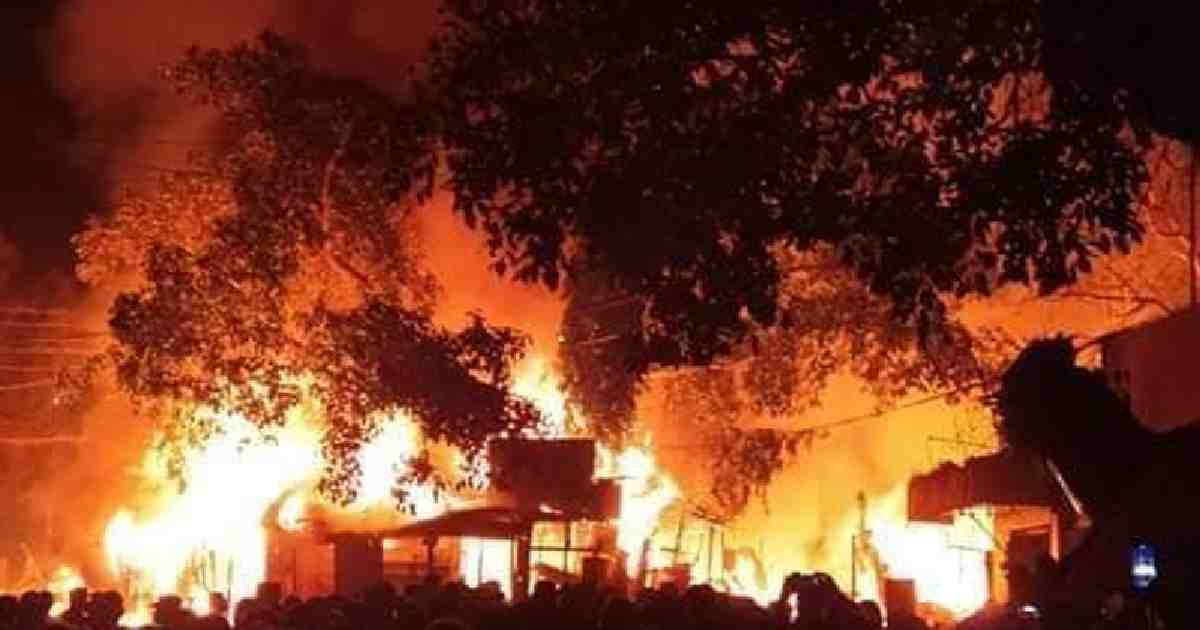50 shops gutted in Rangamati fire