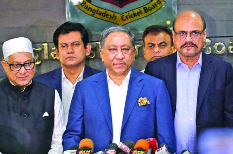 BCB suspends all cricket for indefinite period