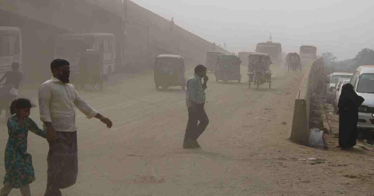 Dhaka's air quality remains 'very unhealthy'