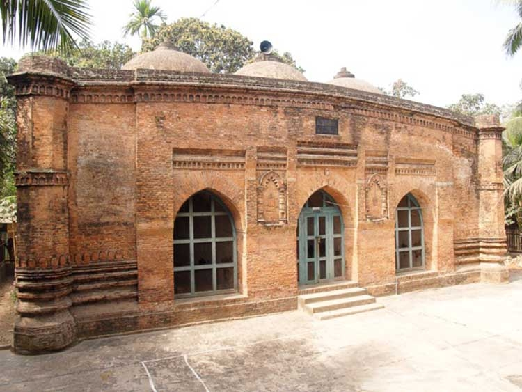 Baba Adam Shahid Mosque in Munshiganj