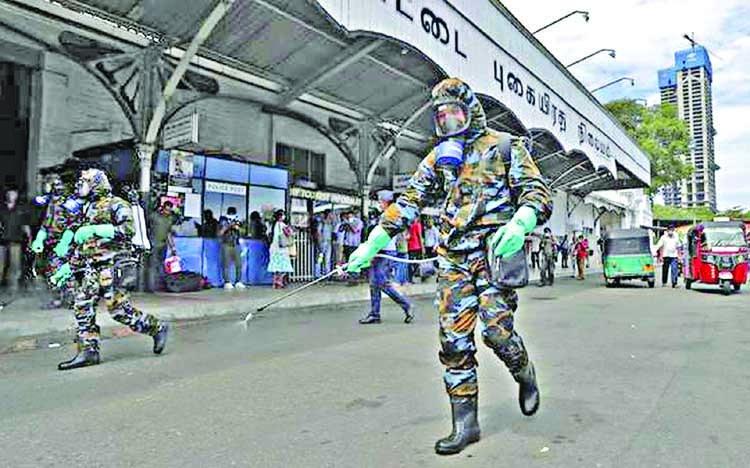 Sri Lanka reimposes curfew over virus