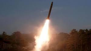 North Korea fires projectiles into sea