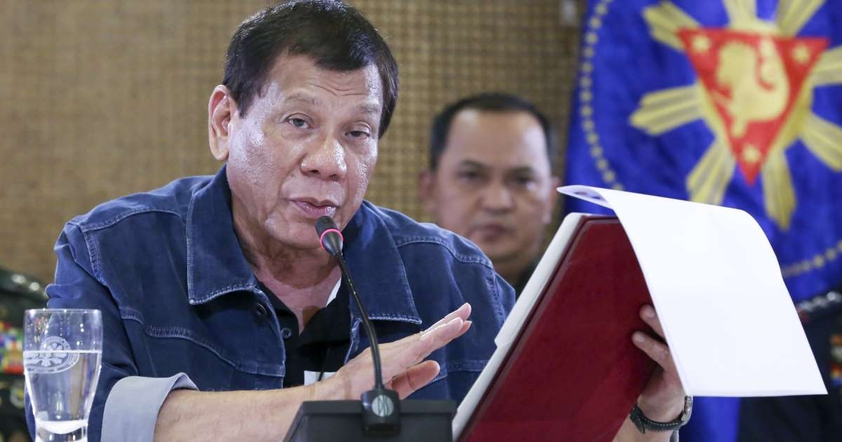Duterte orders price freeze on essential goods amid pandemic