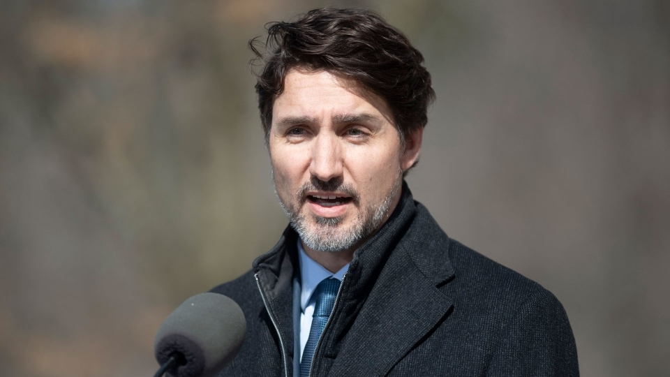 Trudeau pushing manufacturers to quickly produce life-saving supplies against COVID-19 pandemic