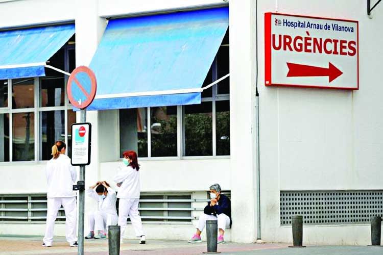 Spain's coronavirus death toll shoots past 1,300