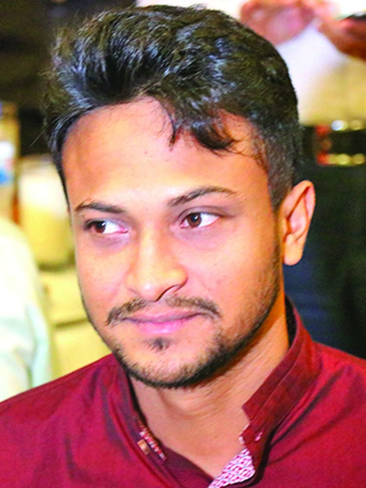 Shakib goes on isolation