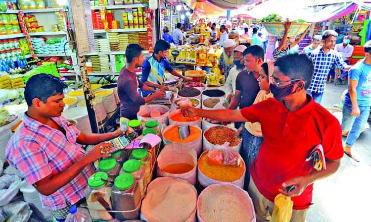 Panic-buying spirals prices of essentials