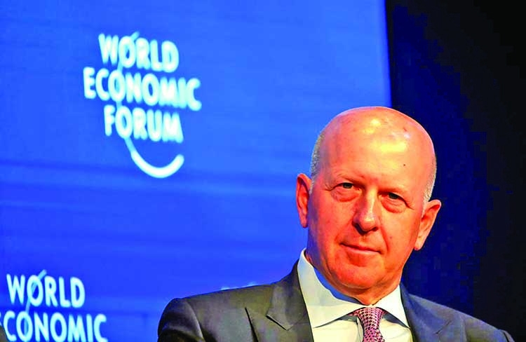 Goldman Sachs CEO's 2019 compensation rises 19%