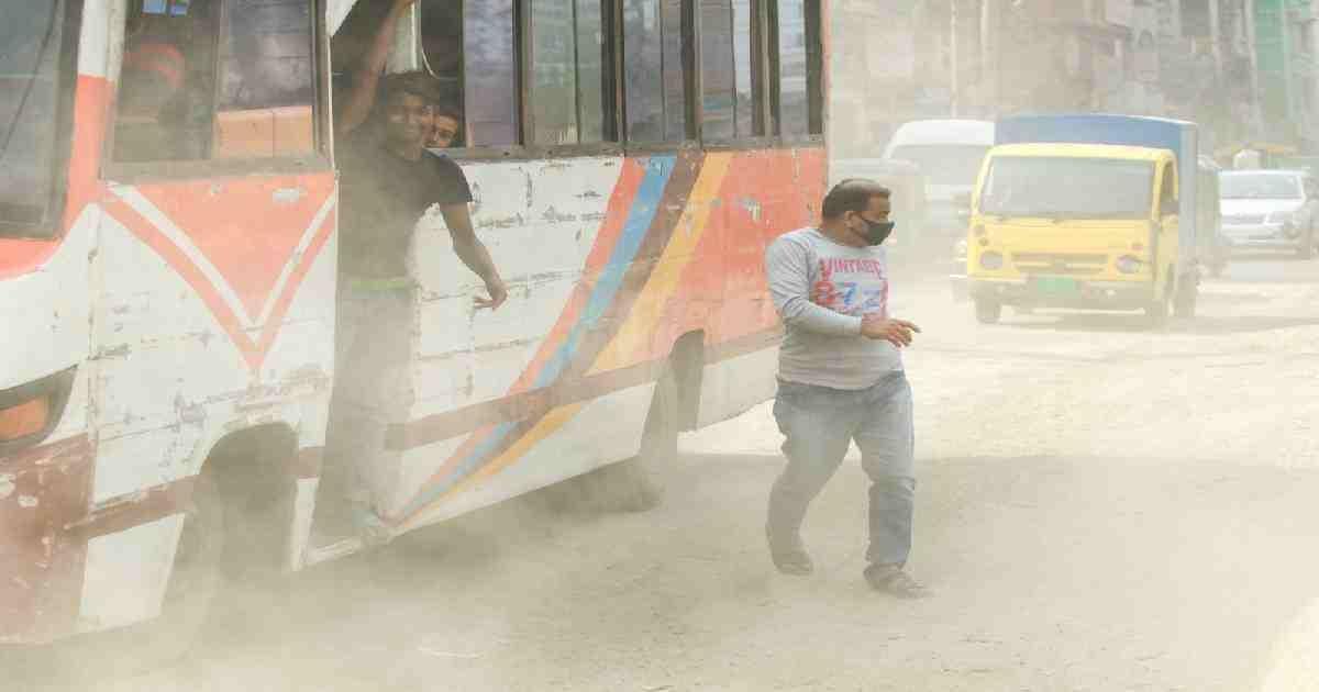 Air Quality Index: Dhaka ranks 6th worst