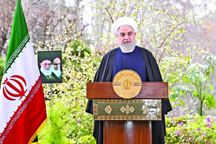 Rouhani expects virus restrictions to ease within 3 weeks