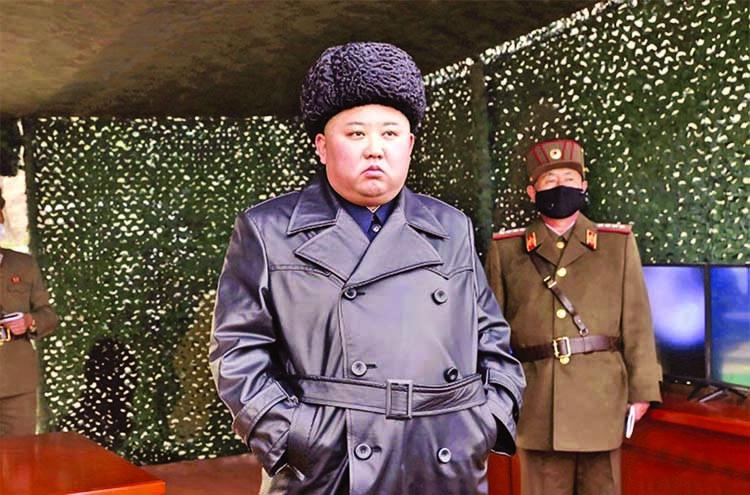 'North Korea fires 2 missiles into sea'
