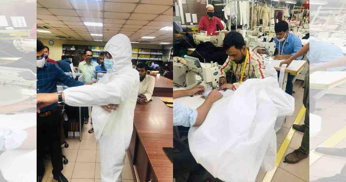 Coronavirus: Bangladeshi RMG factories making, distributing masks