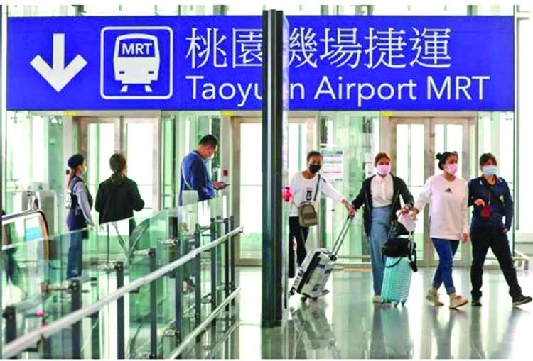 Taiwan to suspend airline passenger transit in virus fight