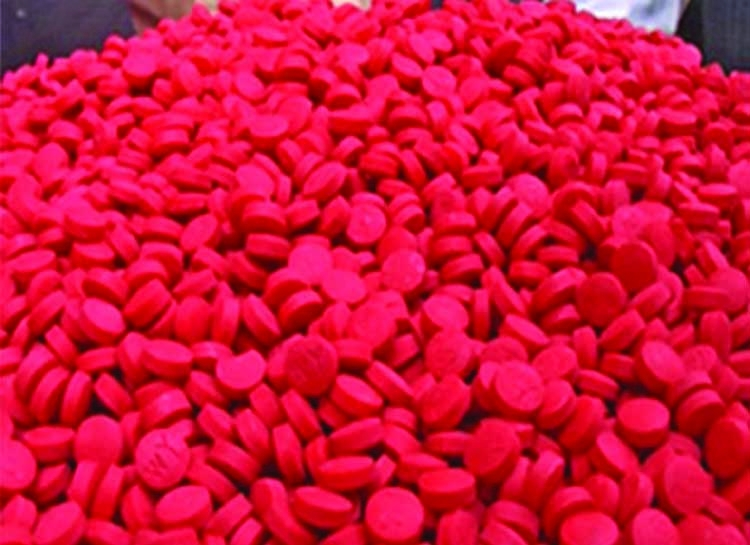 1.5 lakh yaba pills seized in Chattogram