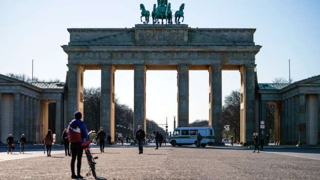 Germany bans groups of more than two to curb virus