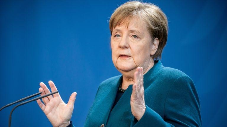 German chancellor Merkel goes into Covid-19 quarantine