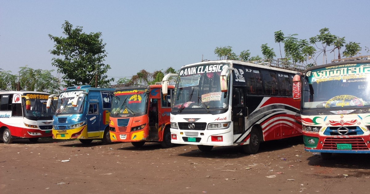 Long-route bus services in Khulna to remain suspended from Wednesday