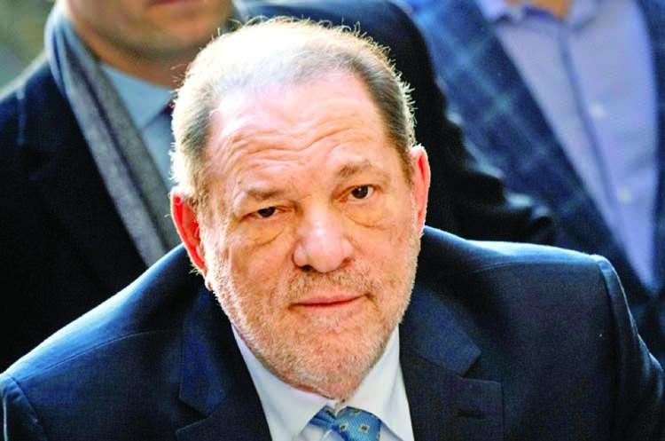 Weinstein tests positive for coronavirus