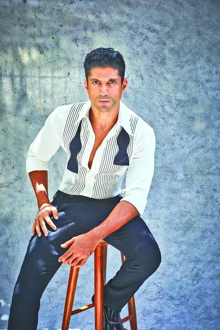 Farhan shares on how the actor is very passionate