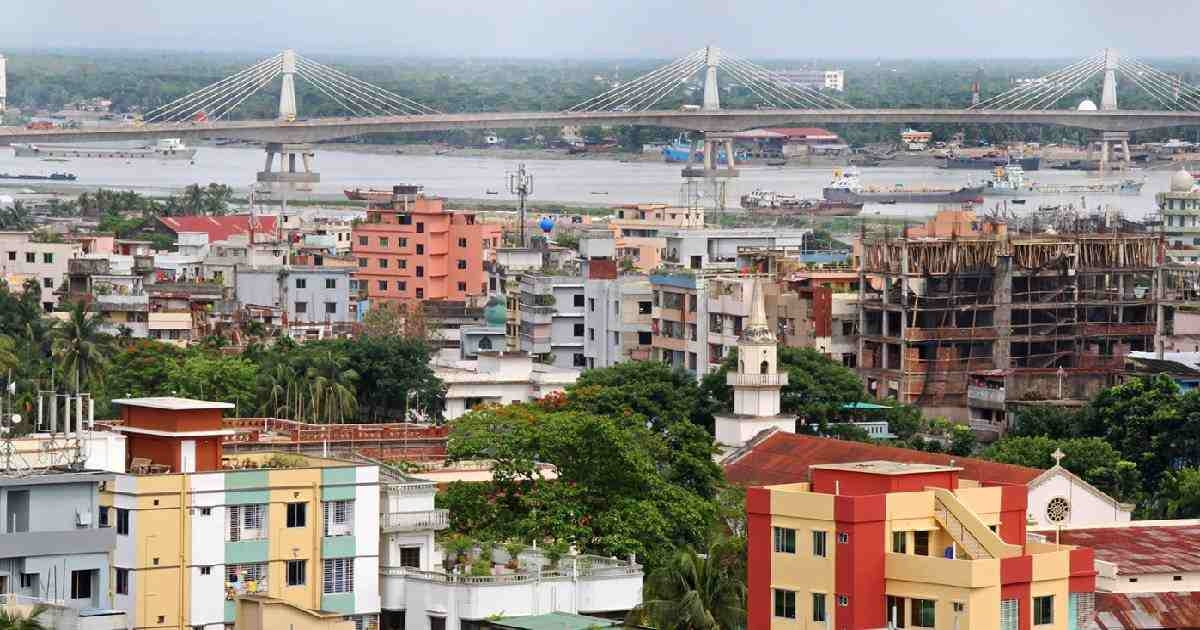Two houses under lockdown in Chattogram