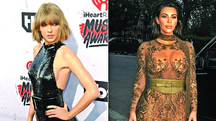 Swift's publicist takes dig at Kim