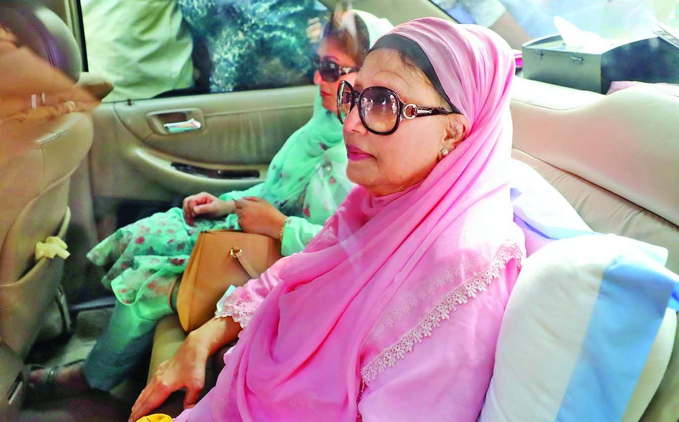 Khaleda Zia released