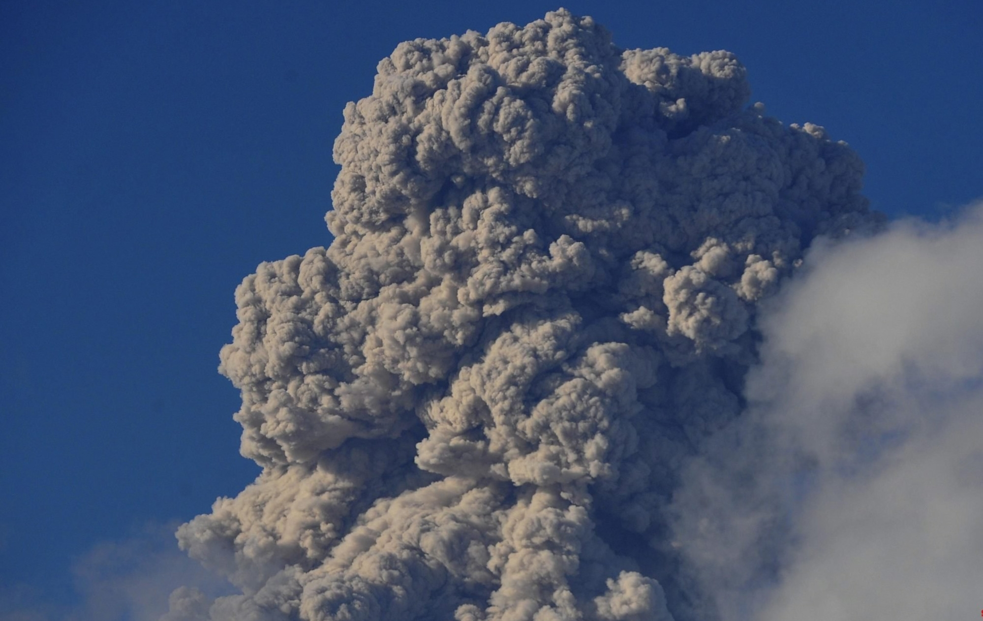 Indonesia's most active volcano erupts, flight warning issued