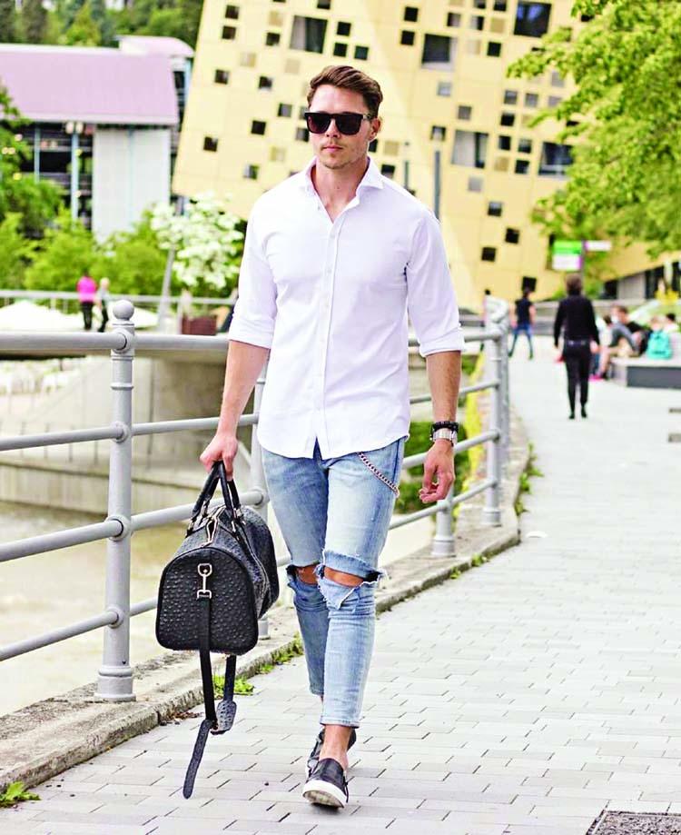 Wardrobe essential: The white shirt