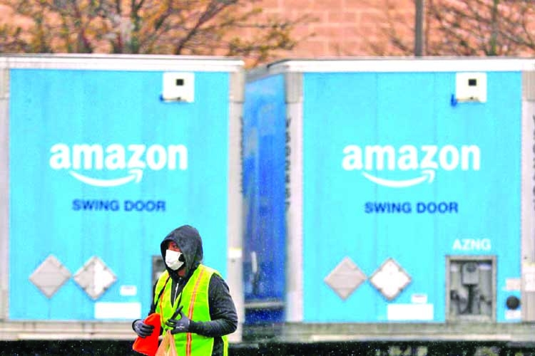 Amazon in contact with coronavirus test makers