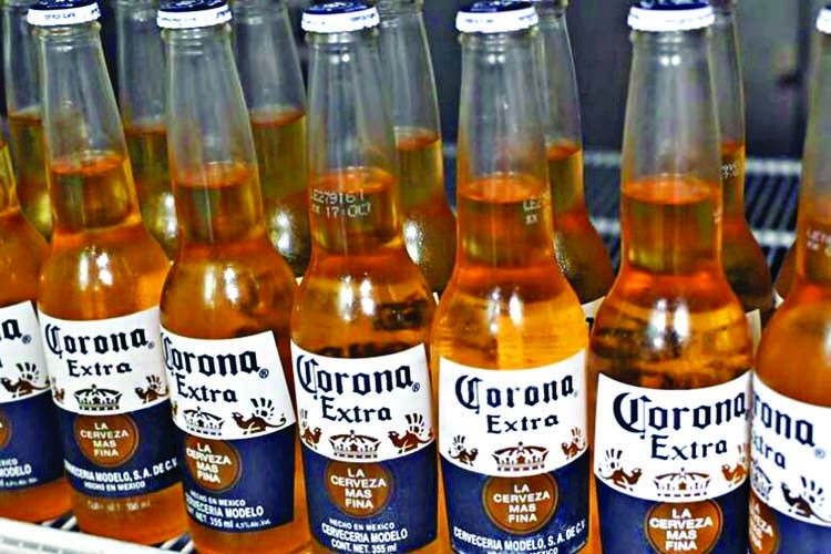 Corona beer producer halts brewing over coronavirus