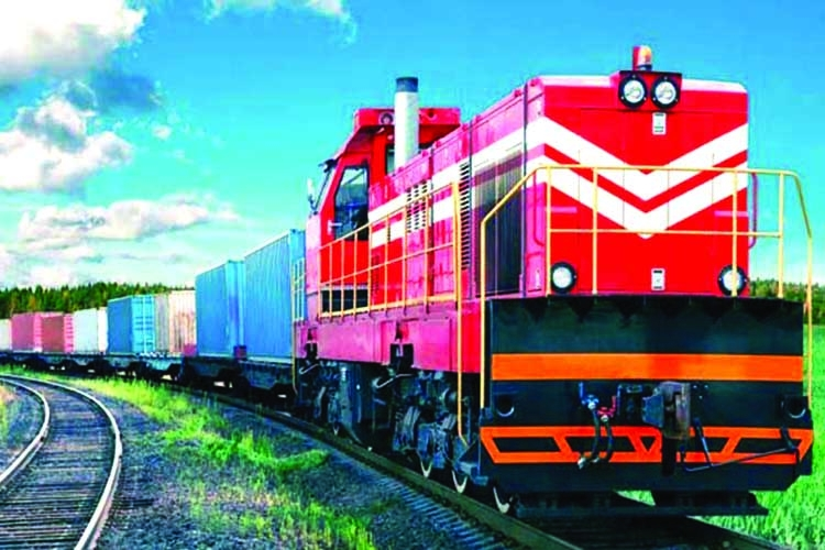 India transports goods to Bangladesh by railway