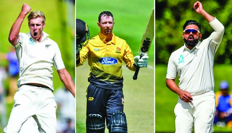 Jamieson, Patel, Conway offered New Zealand Cricket contracts
