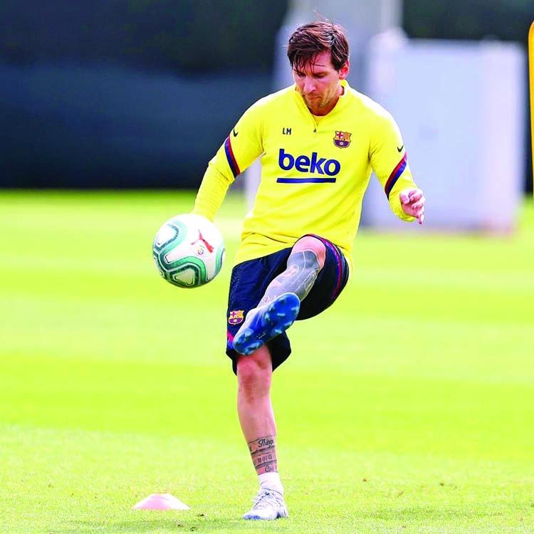 Messi accepts 'risk' of possible La Liga return