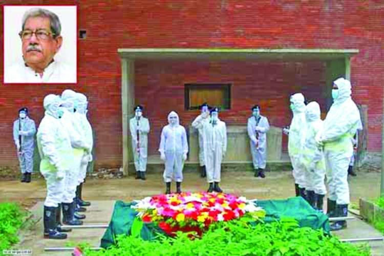 Prof Anisuzzaman laid to eternal rest at Azimpur