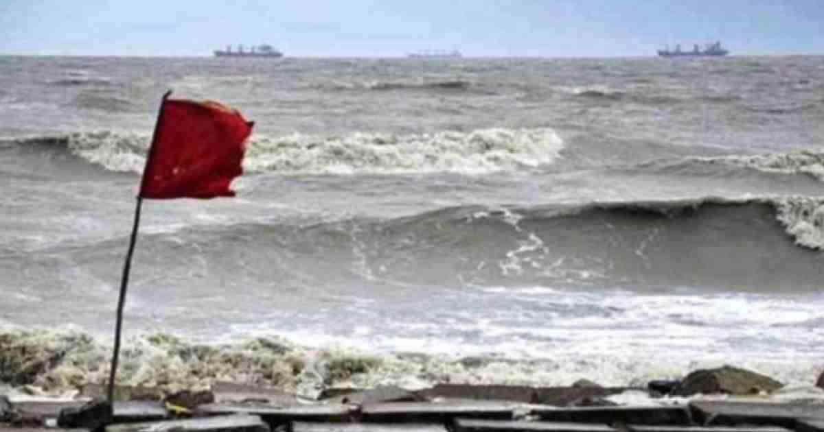 Maritime ports asked to hoist cautionary signal no 1