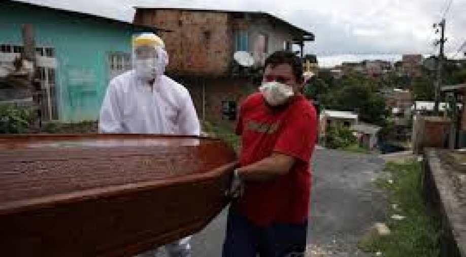 Brazil's coronavirus death toll tops 15,000: Official figures
