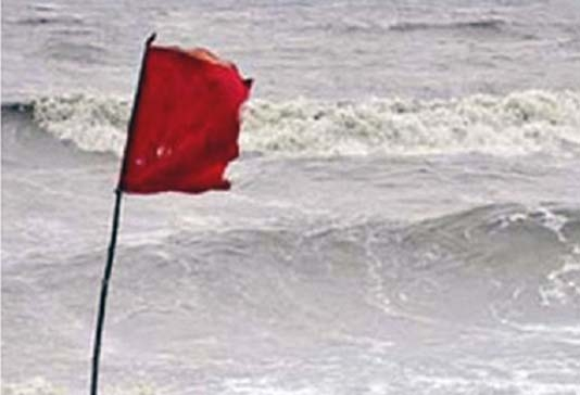 Met office issues signal 4 for maritime ports