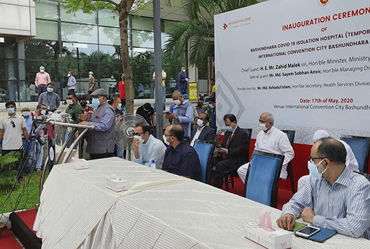 Hospital with 2,000 beds capacity inaugurated in city for COVID-19 patients