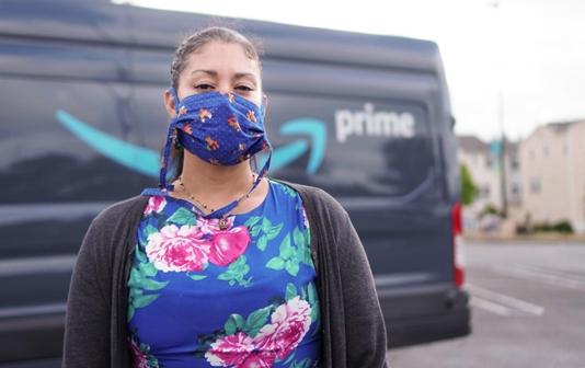 Amazon contractors hit hardest by pandemic