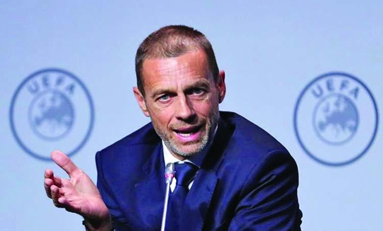 European season will finish in August: UEFA president