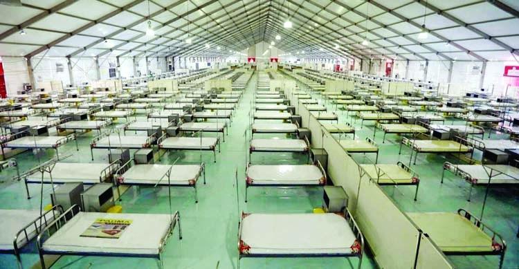 World's 2nd largest coronavirus hospital opens in Bangladesh