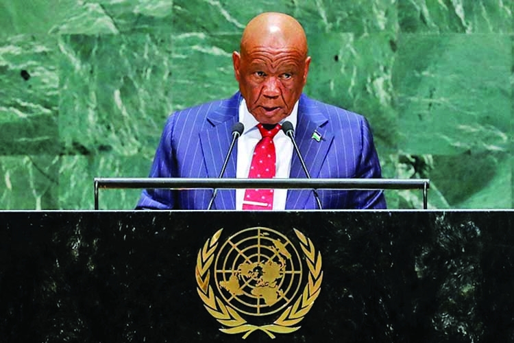 Lesotho PM resigns, soothing political crisis