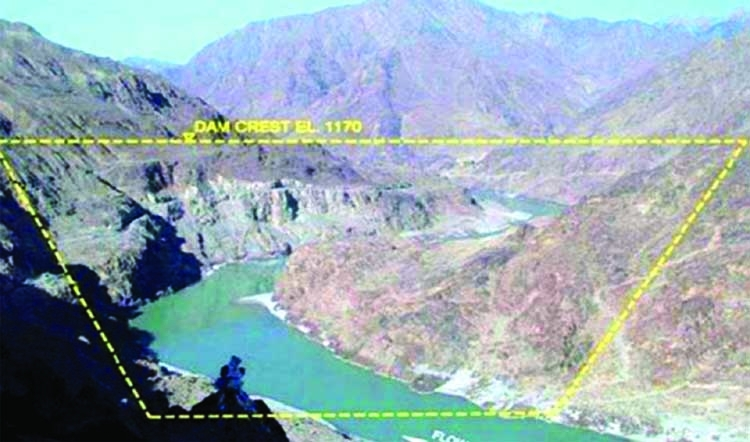The construction of Diamer Bhasha Dam: A new controversy at hand