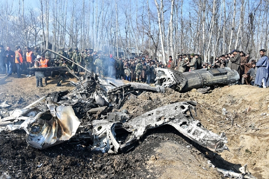 Military helicopter crashes outside Moscow, crew killed: ministry