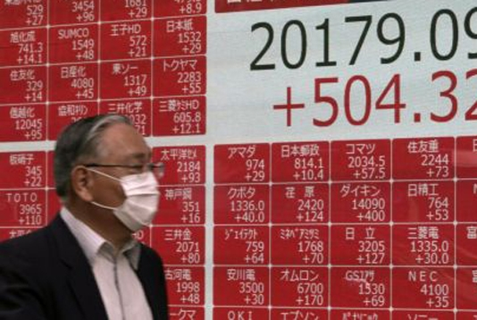 Asian equities rally stalls on lingering economic uncertainty